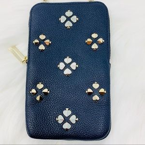 Kate spade iPhone cases crossbody Margaux studded